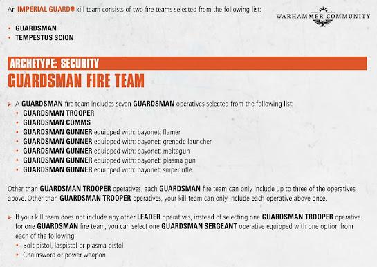 kill team korps de la muerte de krieg