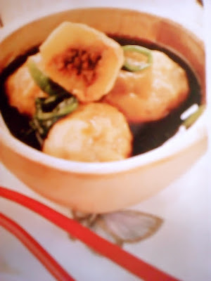 Gambar Resep Kentang Kuah Ponzu