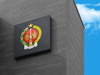 lambang logo provinsi yogyakarta di dinding - kanalmu