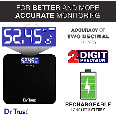 Rechargeable Digital Personal Weighing Scale