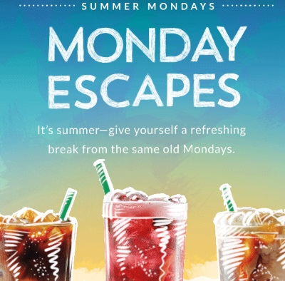 Starbucks Summer Mondays Offers Bonus Stars
