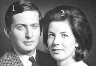 Hans Adam II et Marie von und zu Liechtenstein