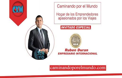 Podcast Caminando por el Mundo - Historia de Exito de Ruben Duran