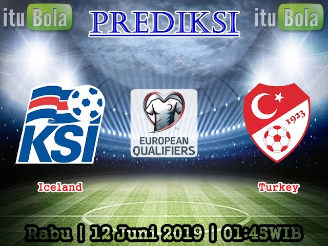 Prediksi Iceland vs Turkey - ituBola