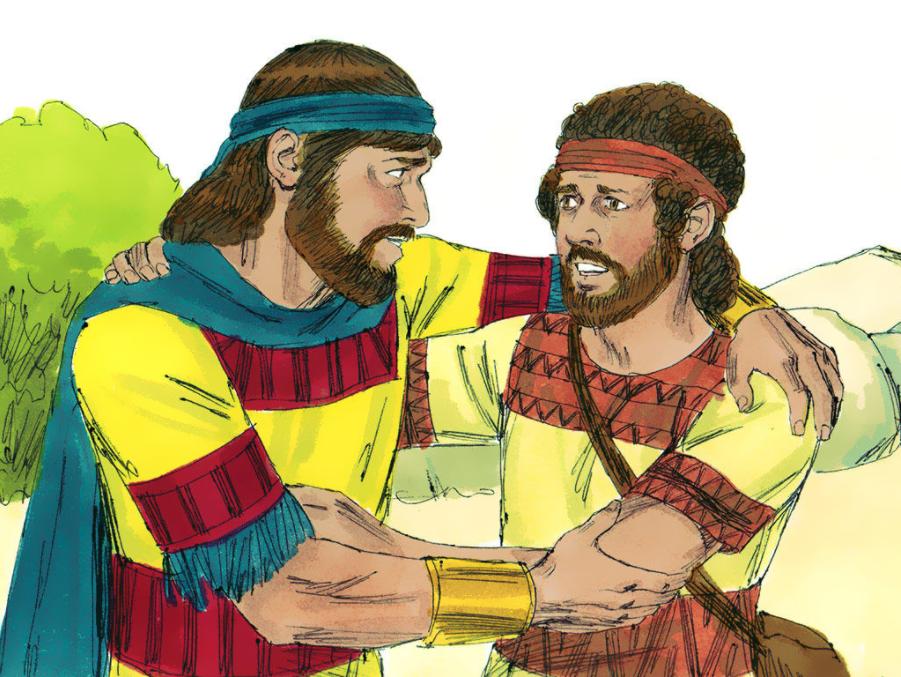 David and Jonathan Were Good Friends