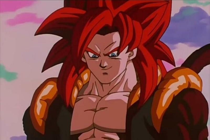 Goku (Dragon ball) anime picture.