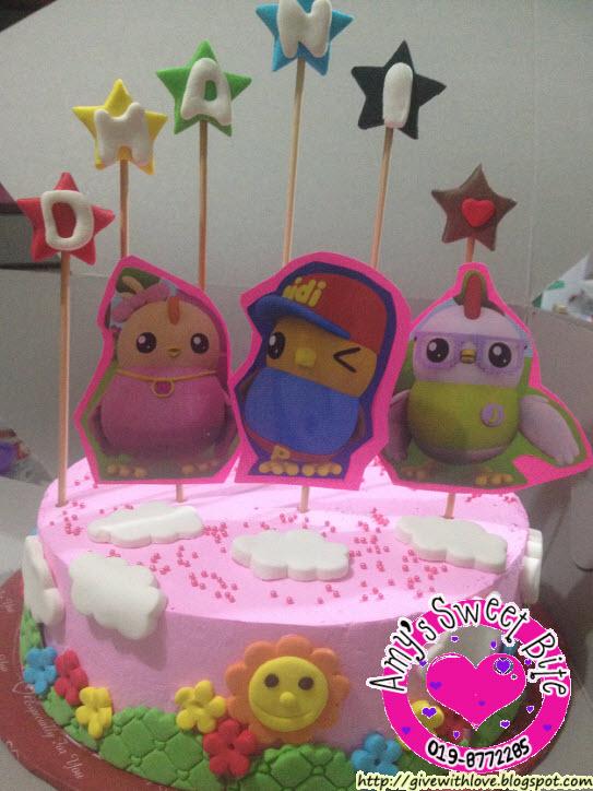 Amys Sweet Bite Kids Birthday Cake Kuching