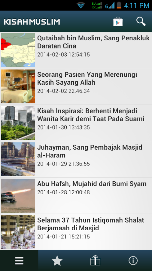 Kisah Muslim for Android App Review