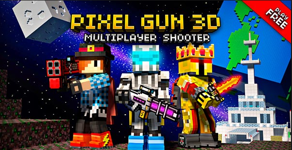 Pixel Gun 3D Pocket Edition Mod Apk (Money/Gems)