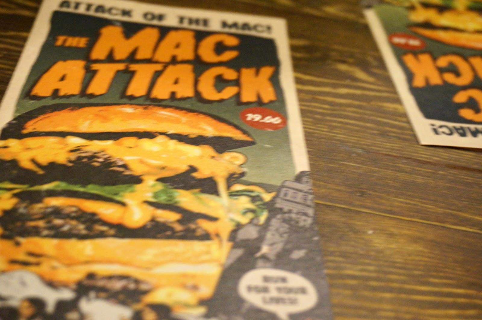 Mac attack menu