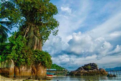 081210999347, 07 Paket Wisata Pulau Anambas Kepri, Pantai Arung Hijau, Anambas