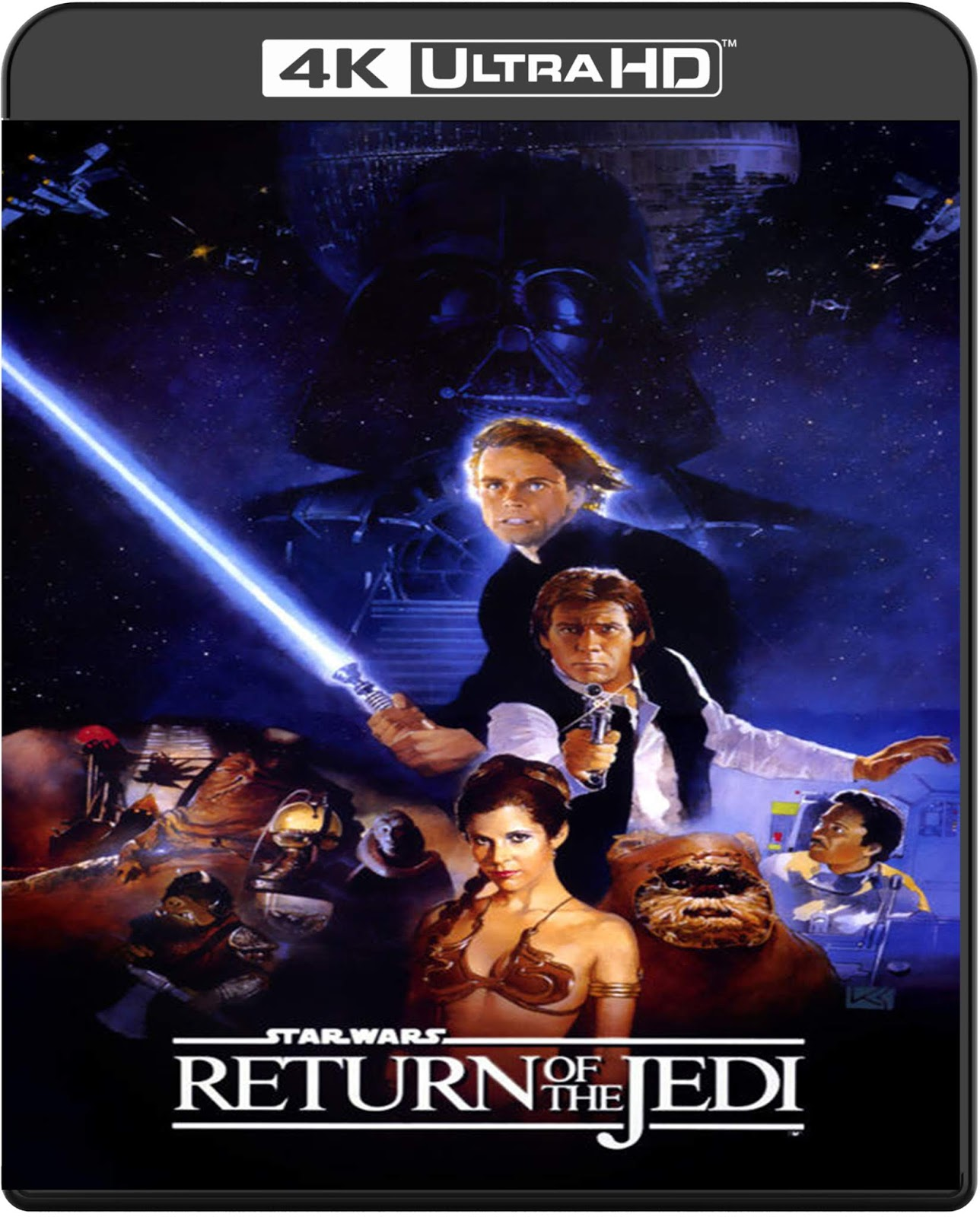 Star Wars. Episode VI: Return of the Jedi [1983] [UHD] [2160p] [Latino]