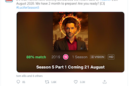 Lucifer Season 5: Part 1 release date On Netflix