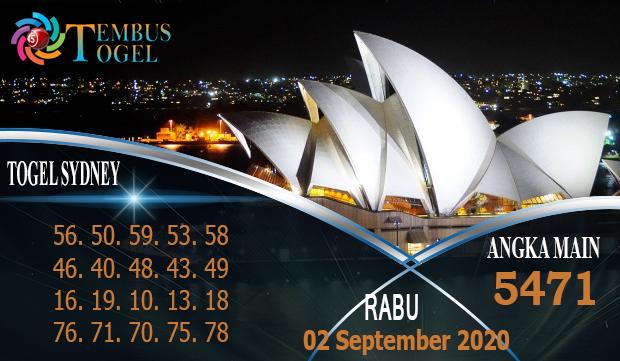 Bocoran Nomor Togel Sidney Rabu 02 September 2020
