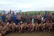 Tanam Mangrove Berjamaah Bareng Wakapolres Karawang di Pasirputih