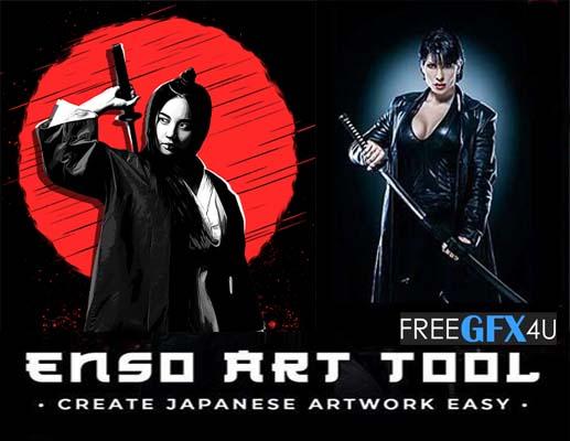 Enso Art Photoshop Tool  plugin