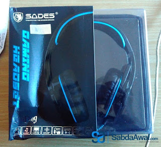 Review Headphone Gaming Laptop : Sades SA-901 Wolfgang