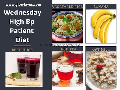 7 Day Menu For High Blood Pressure Diet chart