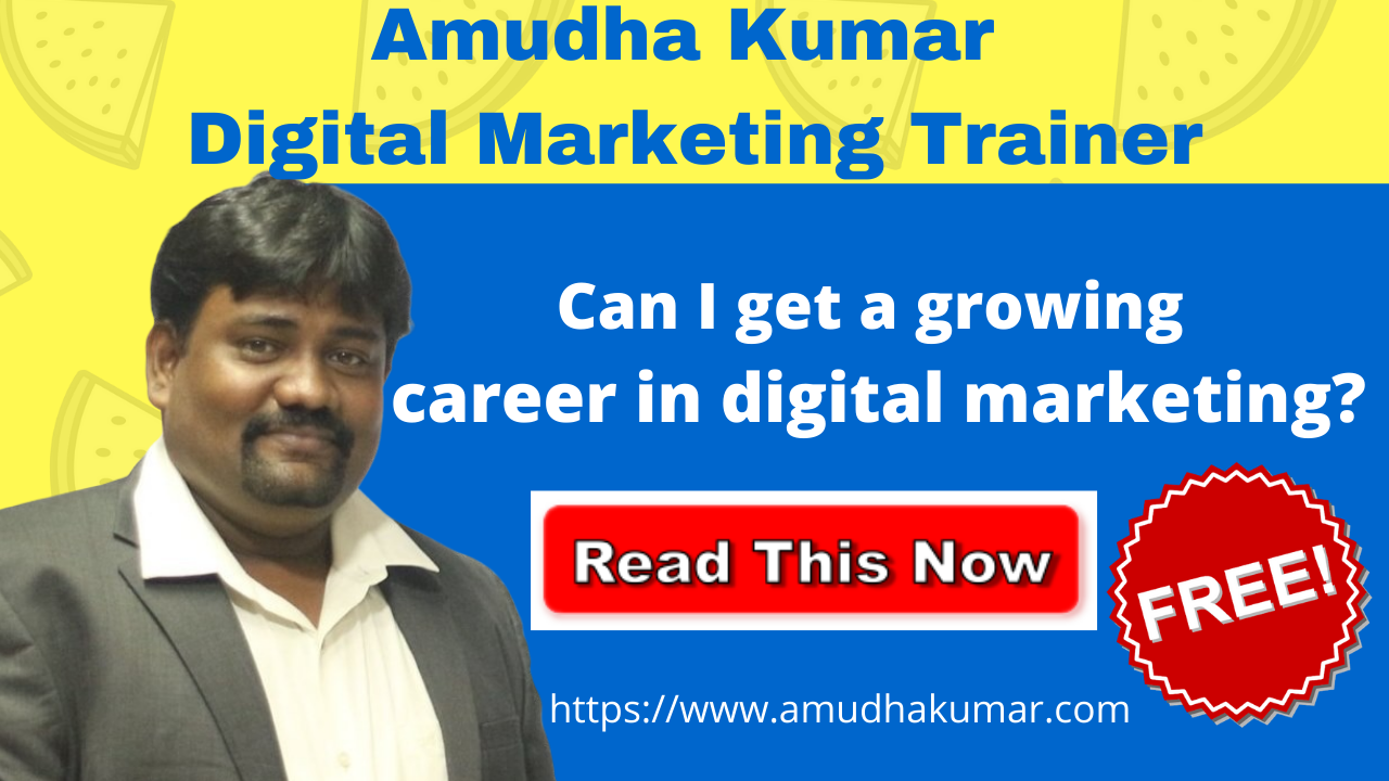 Can I Get a Growing Career in Digital Marketing?