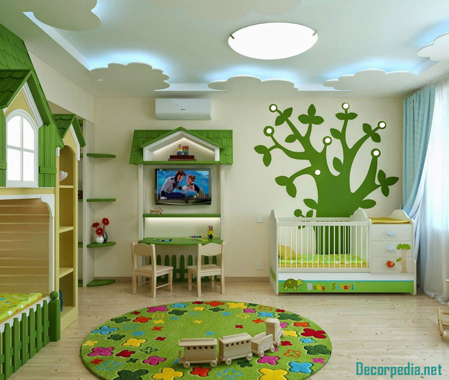 Kids Room Design: The Best Kids Room Ceiling Designs And Ideas 2019