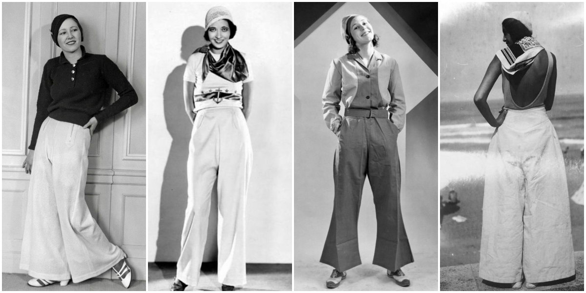 30 Best Photos of Women Wearing Trousers in the 1930s
