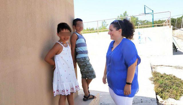 Πρώτο κουδούνι για τους δυο μοναδικούς μαθητές στο σχολείο της Γαύδου