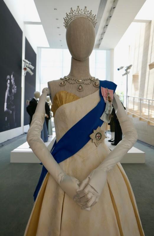 Queen Elizabeth II Ambassador Ball Gown Crown season 2