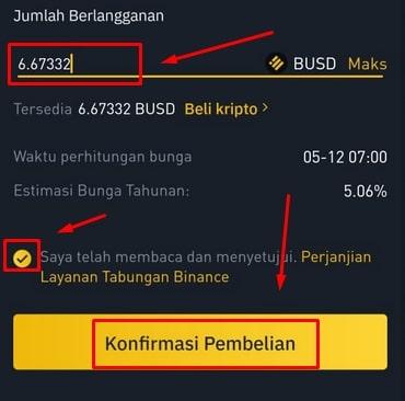 Nominal Berlangganan BUSD