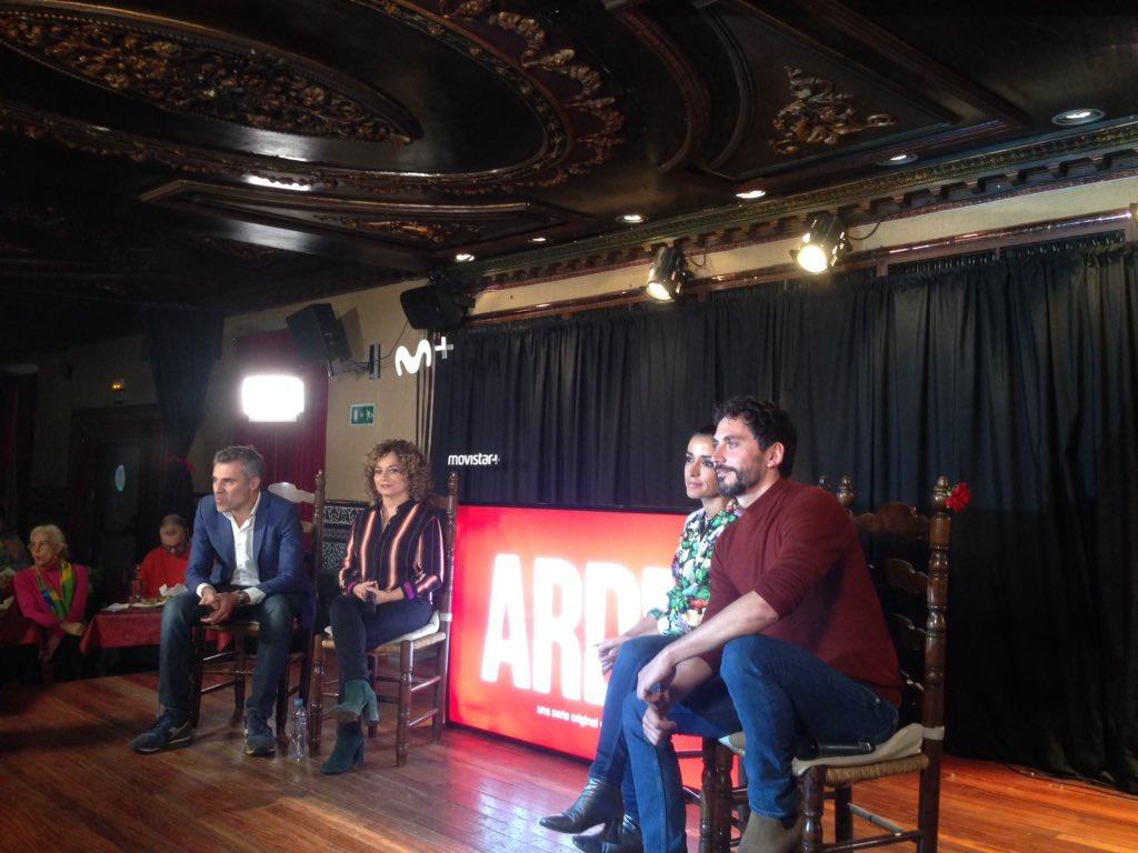 Presentación de 'Arde Madrid'
