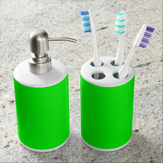 Green bath set