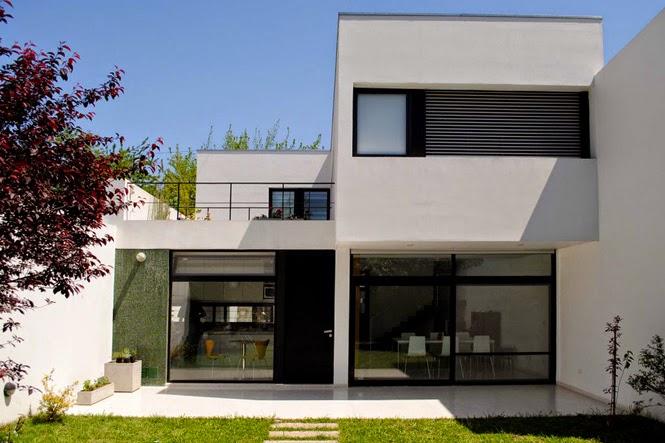 Desain Kreatif Rumah Minimalis 2 Lantai Sederhana