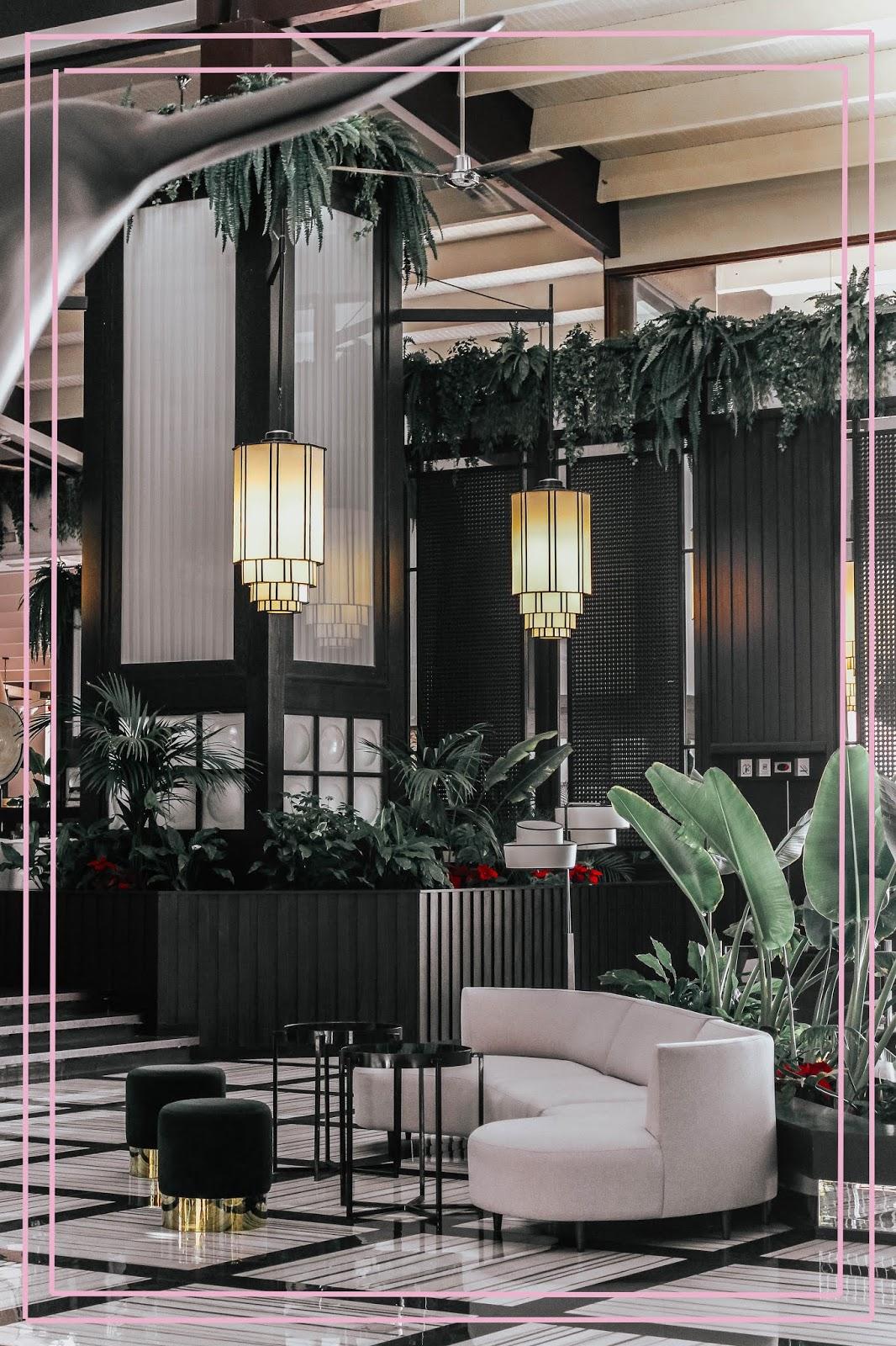 H10 Rubicon Palace Hotel Lobby Interior Design