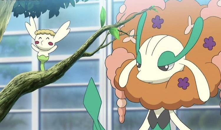 Best beautiful Flower Pokemon designs