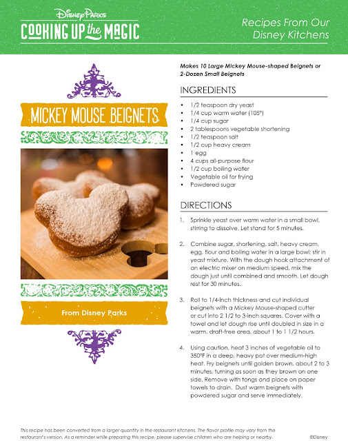 Thanks To Disney Mickey Beignets Recipe Is Out And It's Yum!