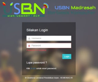 Download aplikasi Uambn-bk mi,  MTs dan ma