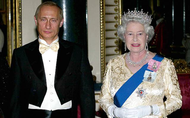 "President Putin Claims Queen Elizabeth ""Is Not Human"""