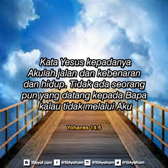 Yohanes 14:6