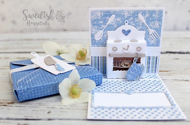 Country Kitchen 3d Card + Matching Box | by Olga