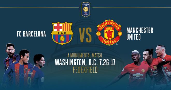 Prediksi Barcelona vs Manchester United –  ICC Kamis 27 Juli 2017