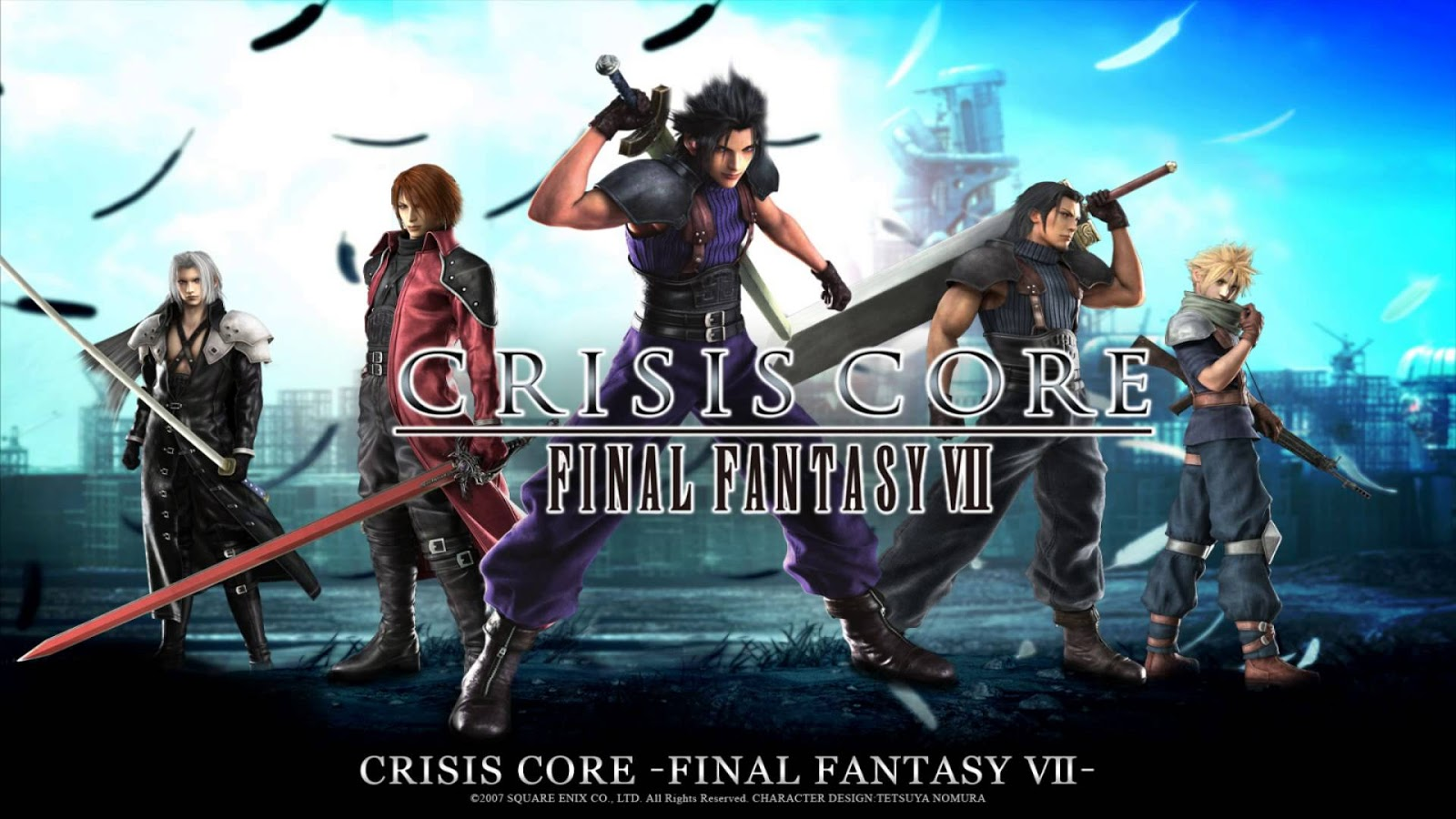 Crisis Core Final Fantasy Vii Thecratwin