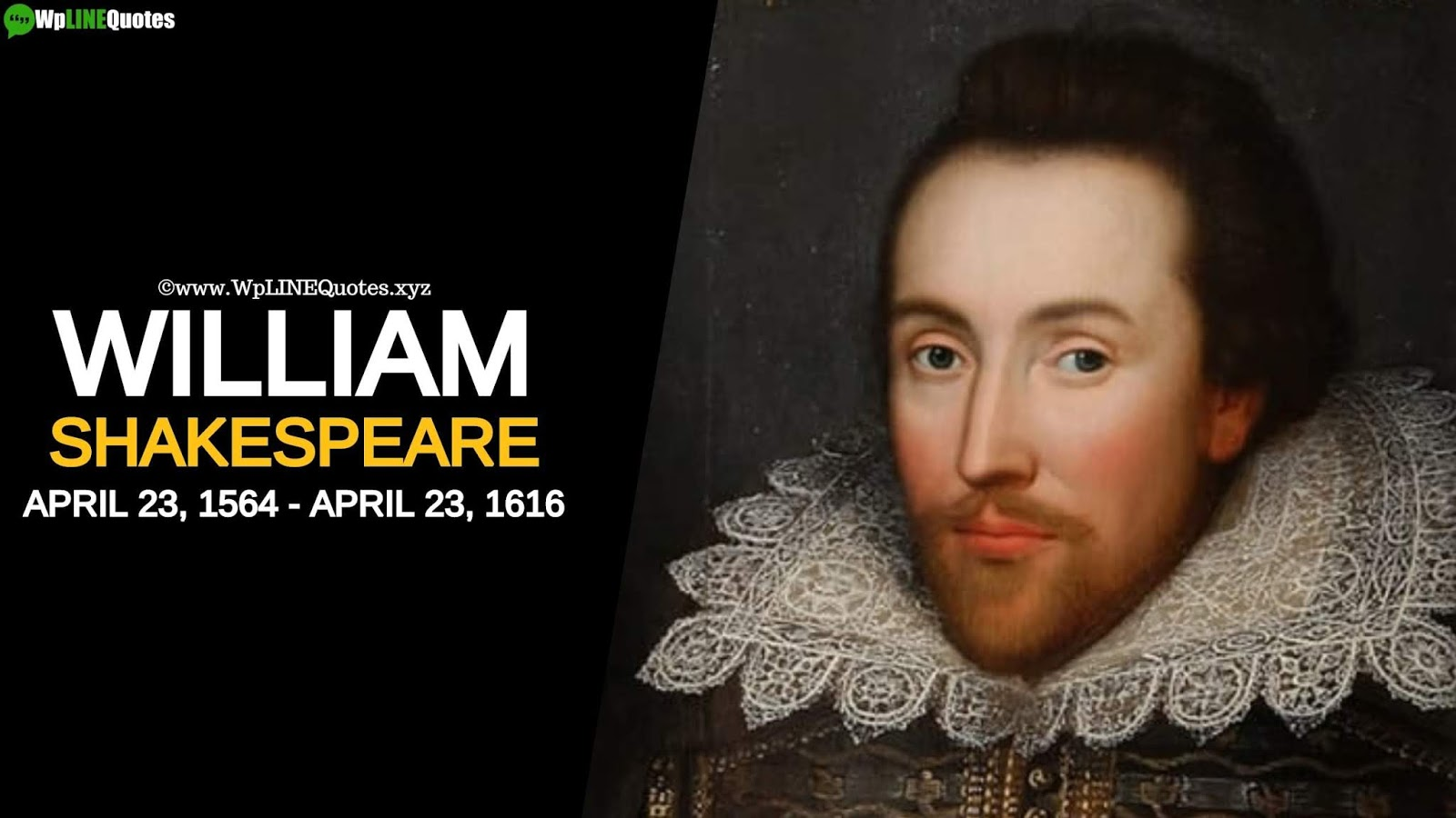 Shakespeare Birthday Quotes, Wishes, Message, Greeting, Images, Photos, Pictures