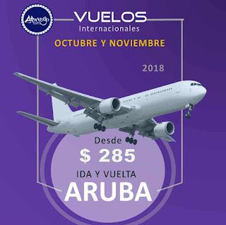 imagen vuelos aruba octubre y noviembre