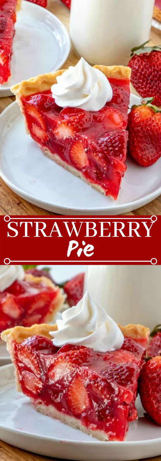 Strawberry Pie #desserts #strawberry