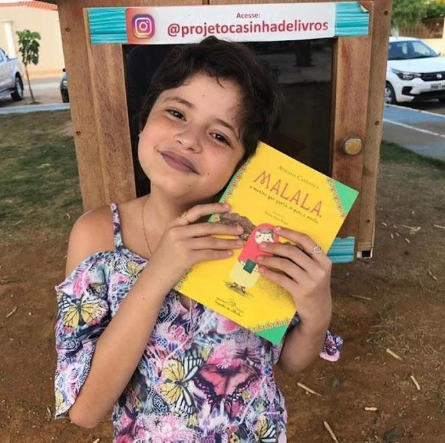 Irecê: Clara Beatriz do projeto casinha de livros está entre os 15 Jovens Transformadores no Brasil em 2021