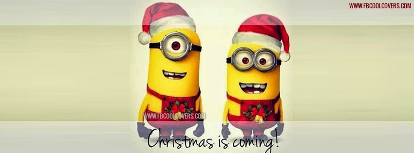 Christmas Minion cover pics for facebook