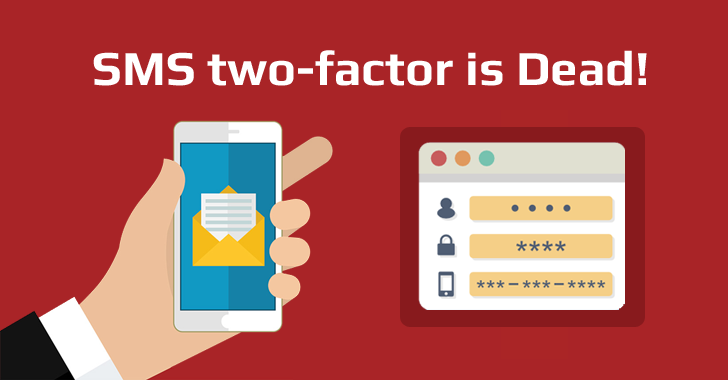 End of SMS-based 2-Factor Authentication; Yes, It's Insecure!