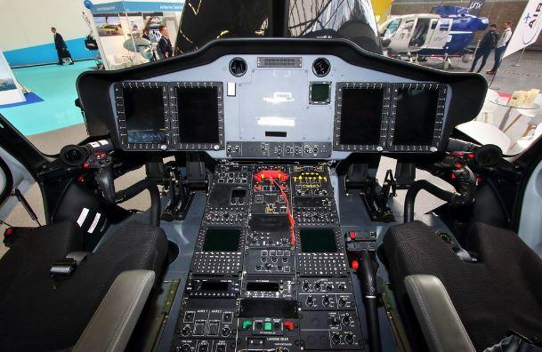 Airbus H175 cockpit