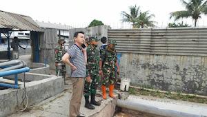 Kolonel Eppy, Dansektor 22 Hentikan Pabrik Teksil Buang Limbah Kotornya