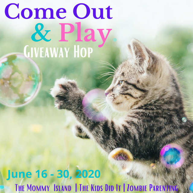 Win a $10 Visa Gift Card in the Come Out & Play Giveaway Hop! Open WW Ends 6/30