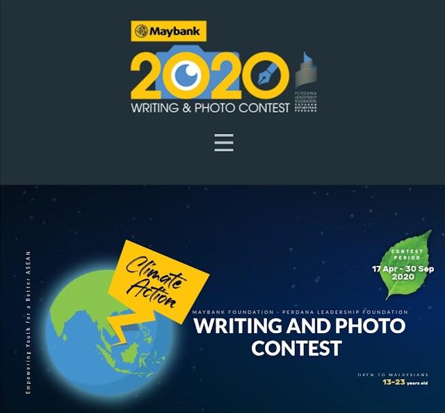 Pertandingan Esei dan Fotografi tema Climate Action, Jom Menangi Hadiah Hebat!